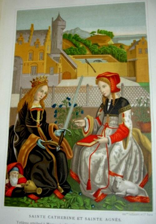 1 Lacroix Sfintele Catherine si Agnes