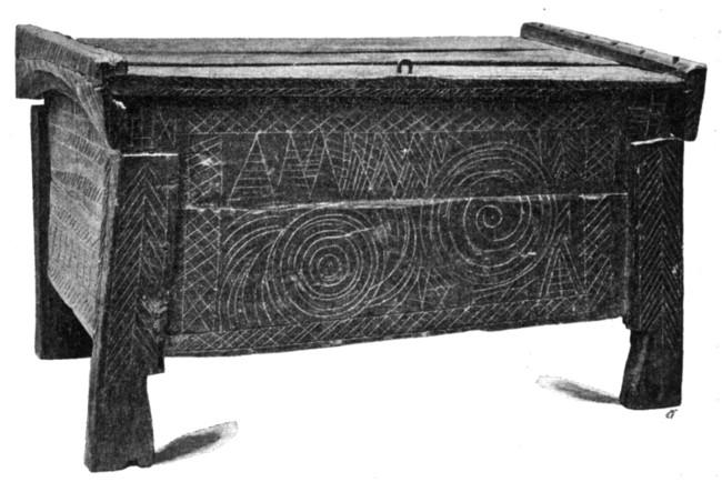 Ladă de zestre din Câmpulung, foarte veche în 1904