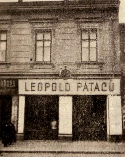 Magazinul Fabricii Paţac, din strada Carol