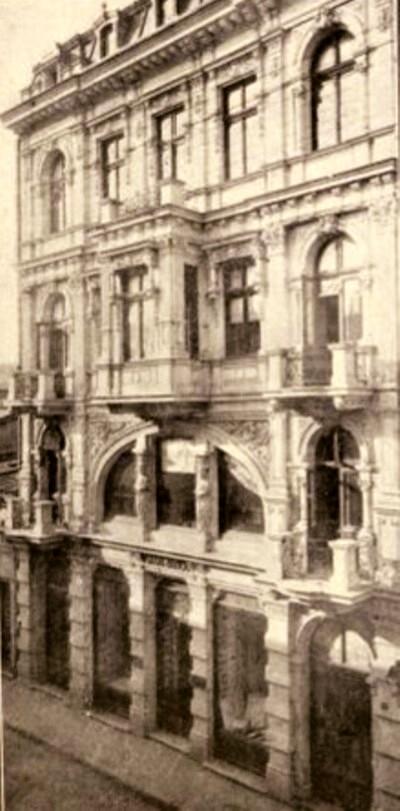 """Magazinul """"Fraţii Iancu"""", din strada Decebal"""