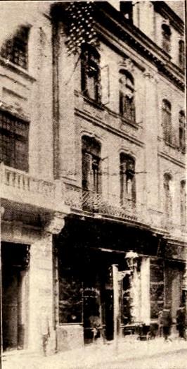 Magazinul Rosenfeld & Witzling, din strada Academiei