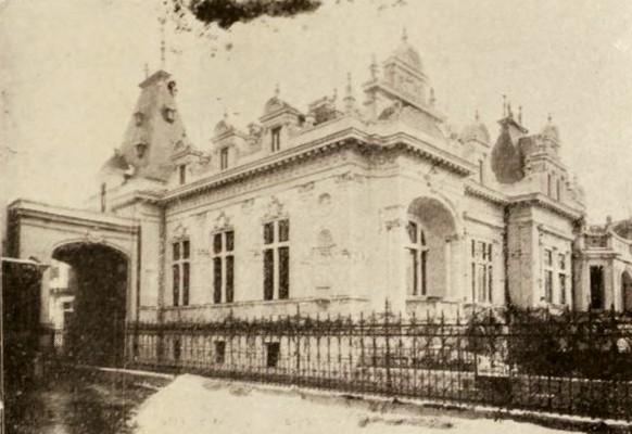 Noua casă Roşianu, din strada Academiei