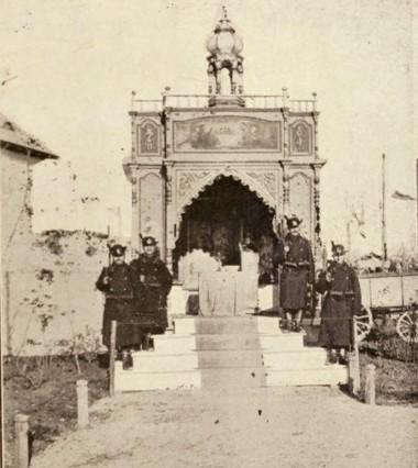 O capelă românească la Expoziţia din 1906