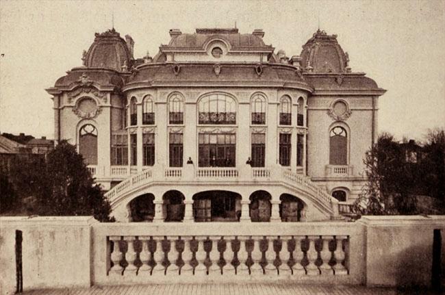 Palatul Cantacuzino, faţada
