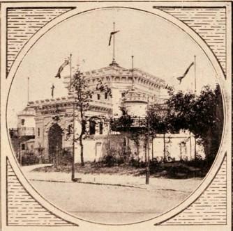 Pavilionul închisorilor, la Expoziţia din 1906
