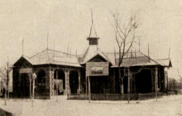 Pavilionul Casei J. Abravamovici, la Expoziţie