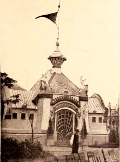 Pavilionul Geiser al Expoziţiei din 1906