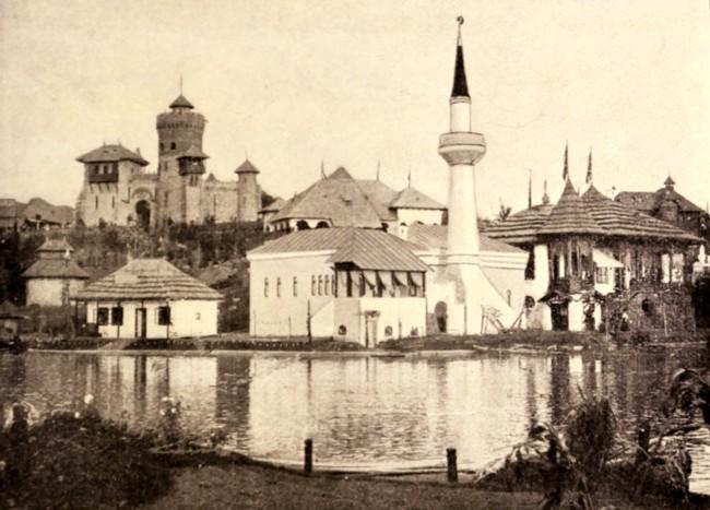 Pavilionul turc al Expoziţiei din 1906