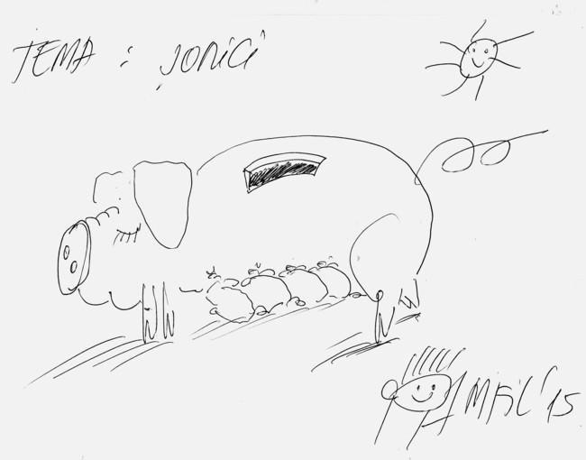 Caricatură de Pamfil Horodnic