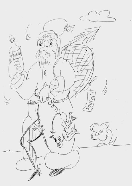Caricatură de Viorel Corodescu-COV