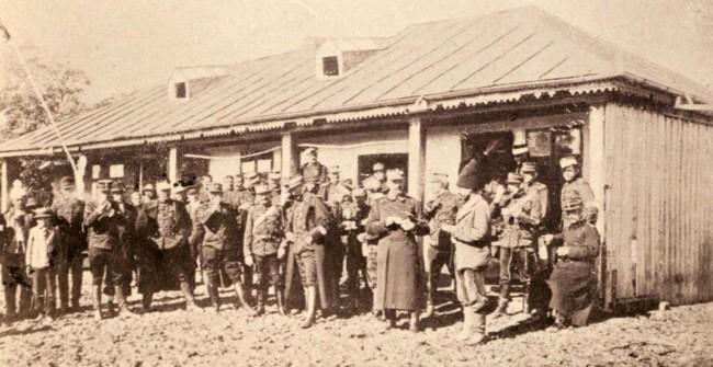 Statul Major al Corpului 2 de Armate la manevre