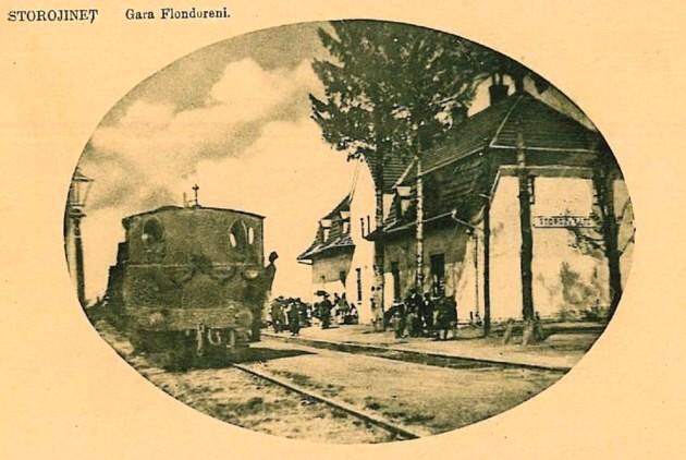Storojineţ, Gara Flondoreni