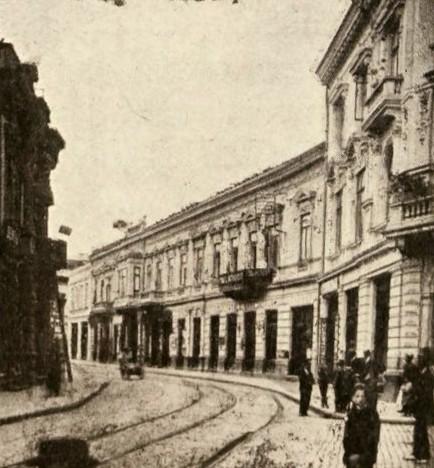 Strada Doamnei, cu casa Paul Schuele