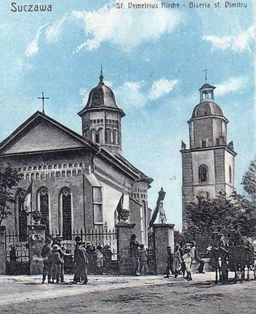 Suceava, biserica Sfântul Dumitru
