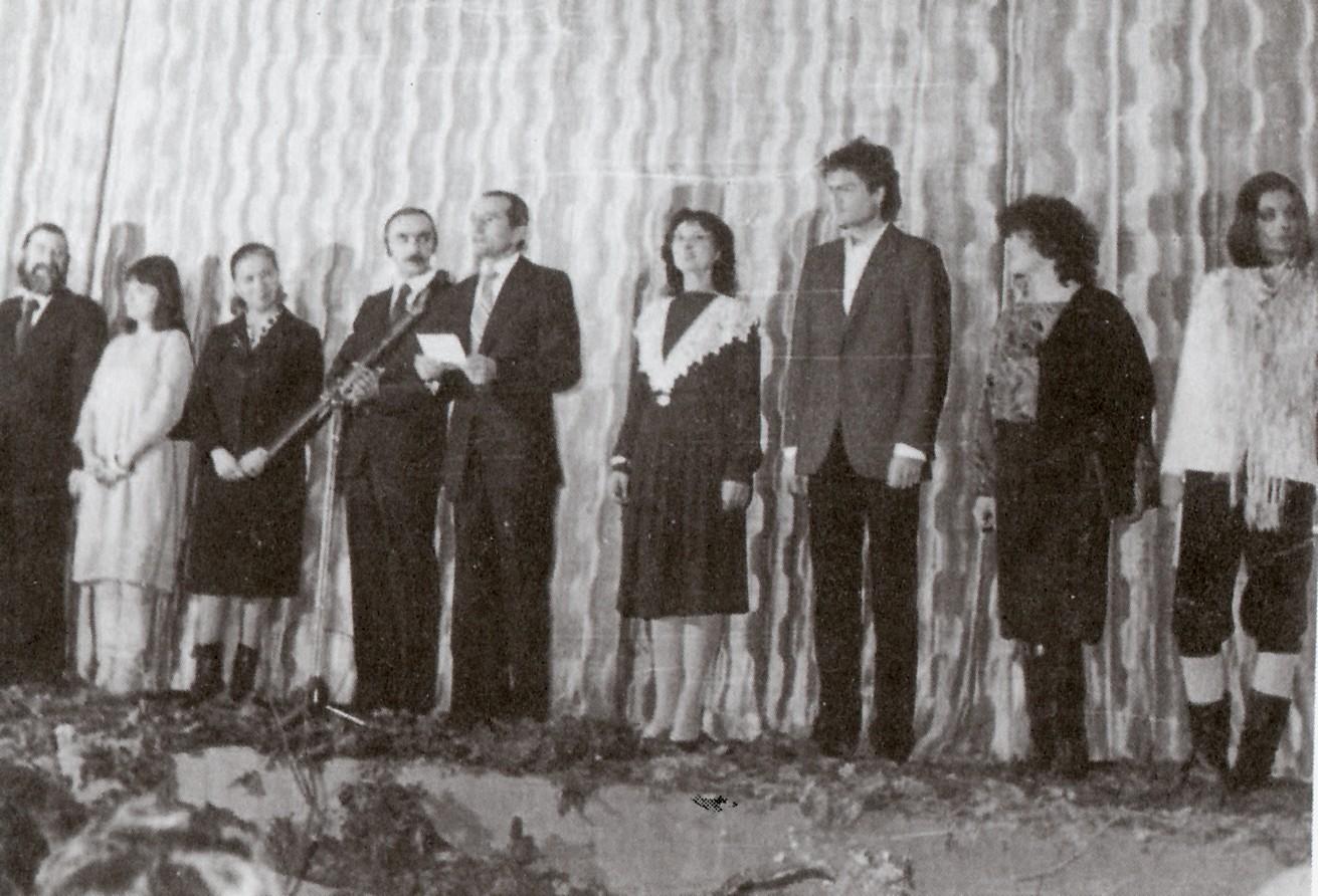 Actorii Teatrului Municipal Suceava