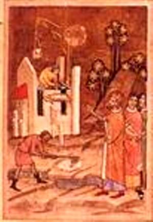 Solia lui Basarab (detaliu)