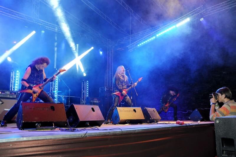 Muzicienii polonezi ai trupei VADER, pe scena Bucovina Rock Castle