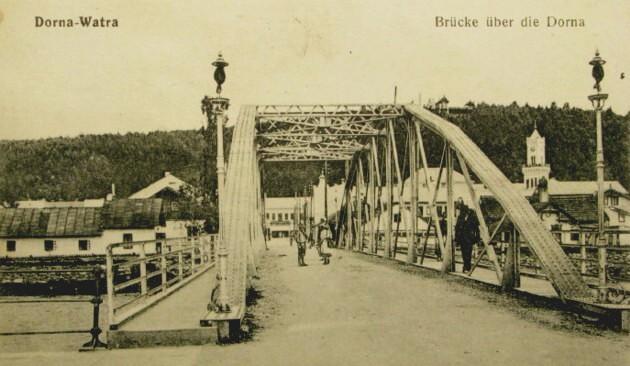 Vatra Dornei, podul de peste Dorna