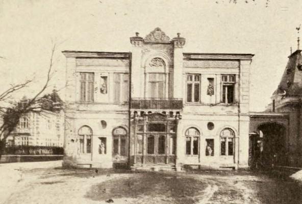 Vechea casă Roşianu, din strada Academiei