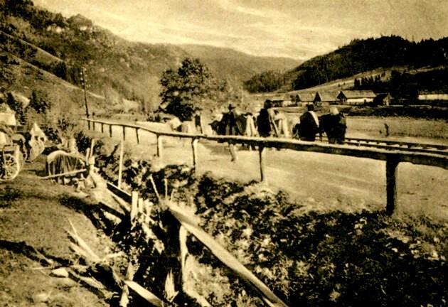 Cârlibaba, în vremea Primului Război Mondial