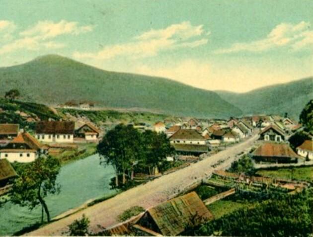 Cârlibaba, în altă carte poştală a lui Kubi Wohl