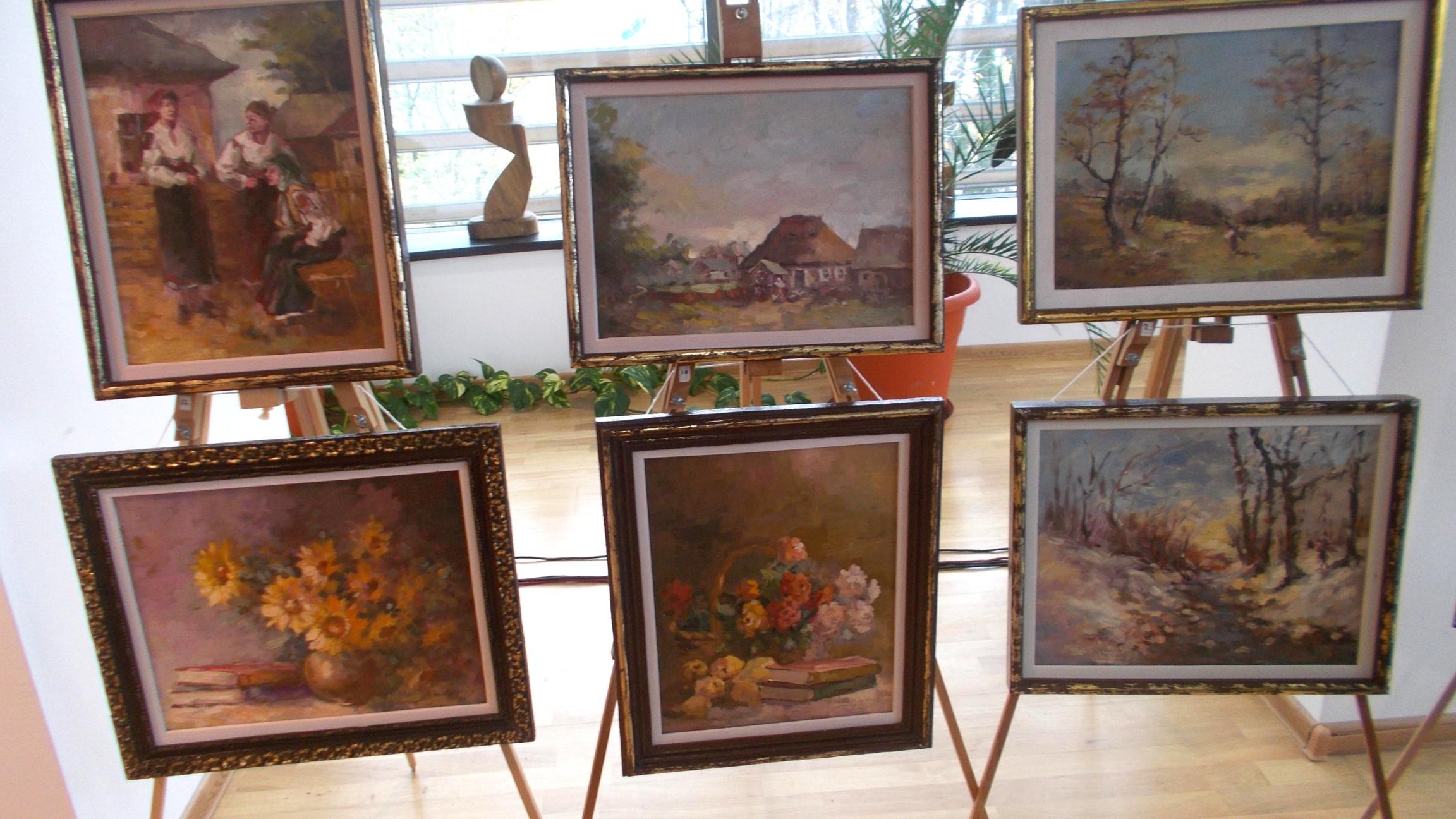 """Expoziţia """"Peisaj Bucovinean"""", de Dimitrie Savu"""