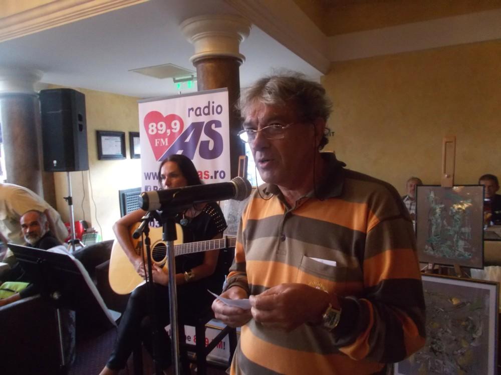 Umoristul Constantin Horbovanu, cu un catren de-al lui Omar