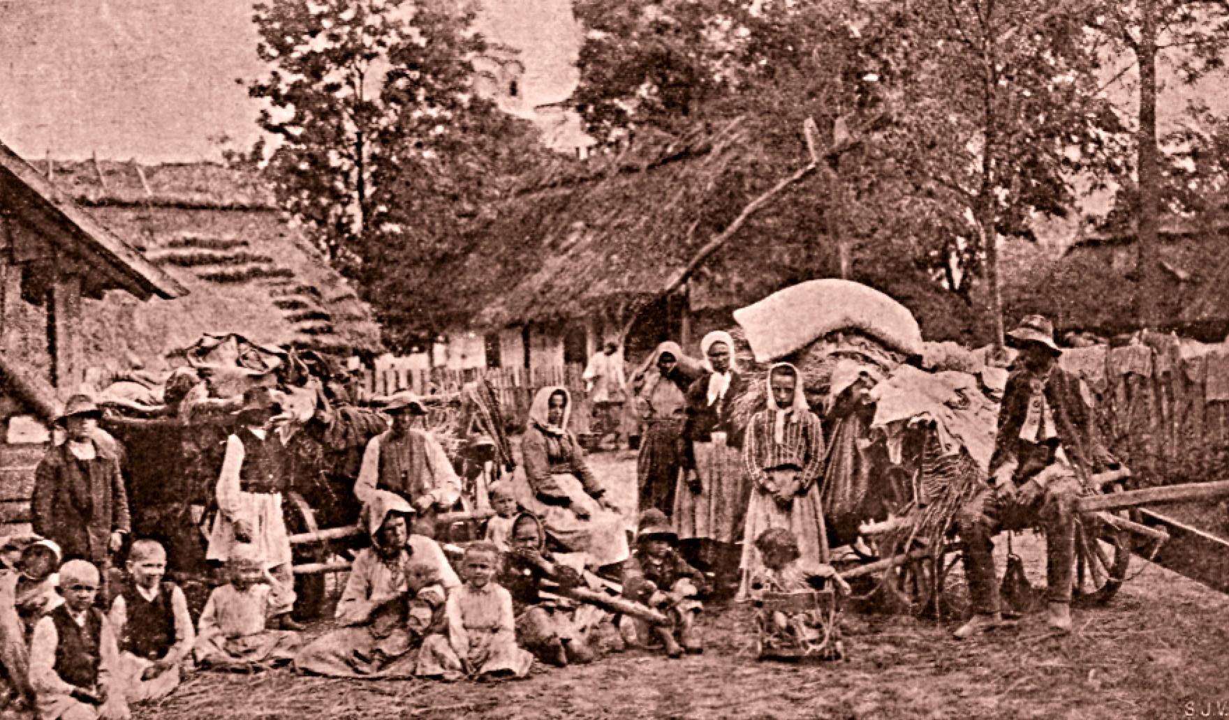 Sat rutean langa Przemysl, în Galiţia