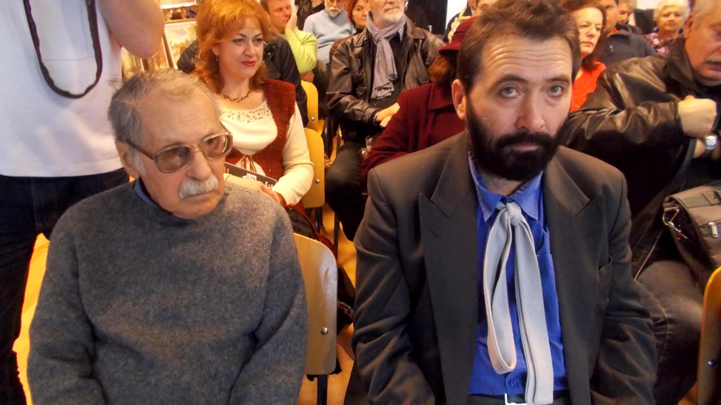Pictorii Dimitrie Savu şi Constantin Ungureanu-BOX