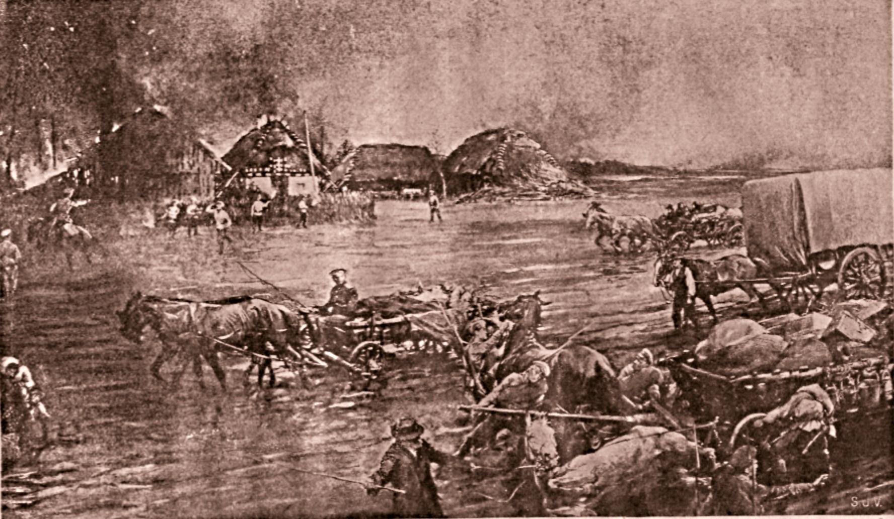 Intrarea trupelor ruseşti în Bucovina