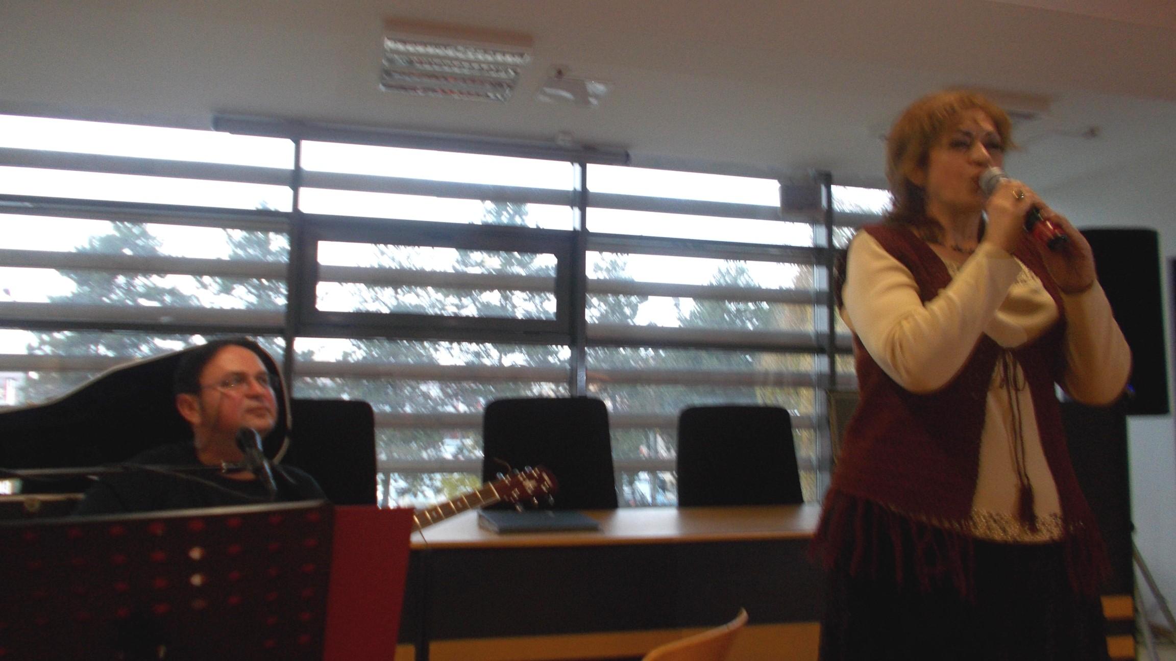 Vasile Purice şi Gabriela Teişanu