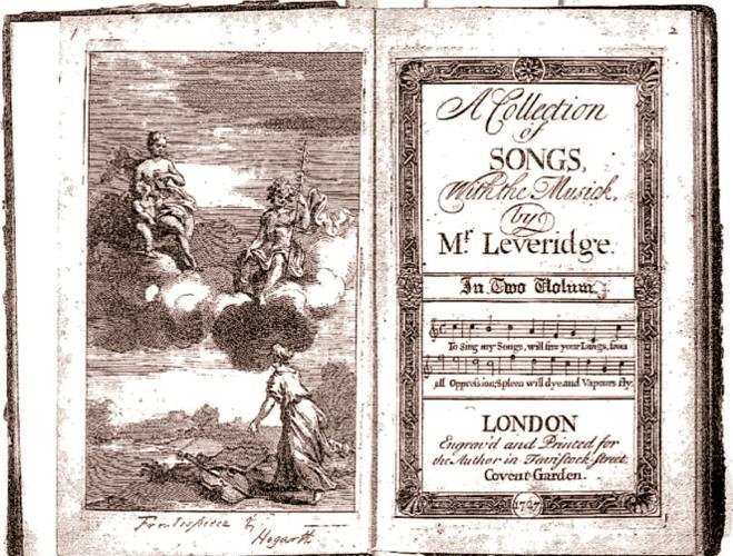 1727 Richard Leveridge coperta