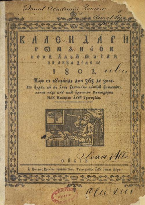 1802 Calendar
