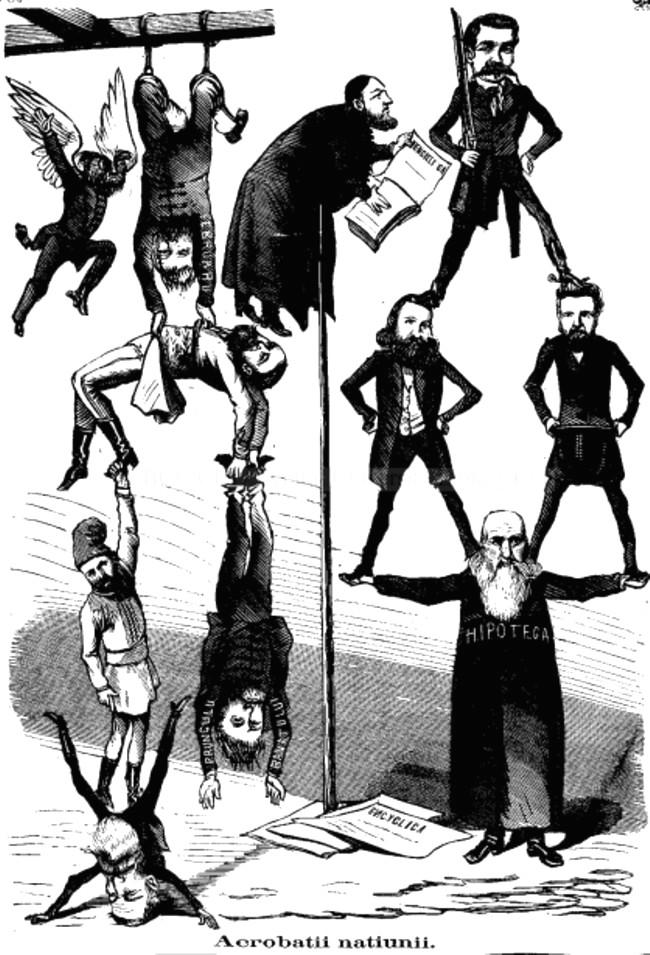 Acrobaţii Naţiunii - GURA SATULUI, 1869