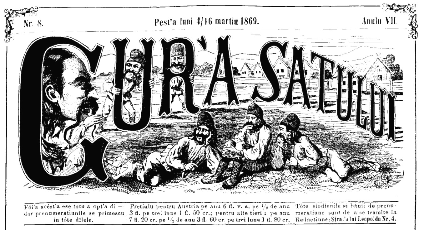 1869 GURA SATULUI frontispiciu