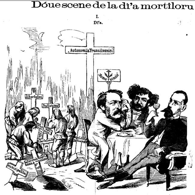 Ziua Morţilor - GURA SATULUI, 1870