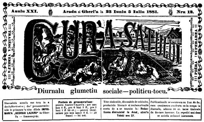 1881 Candidatul Linte GURA SATULUI fine