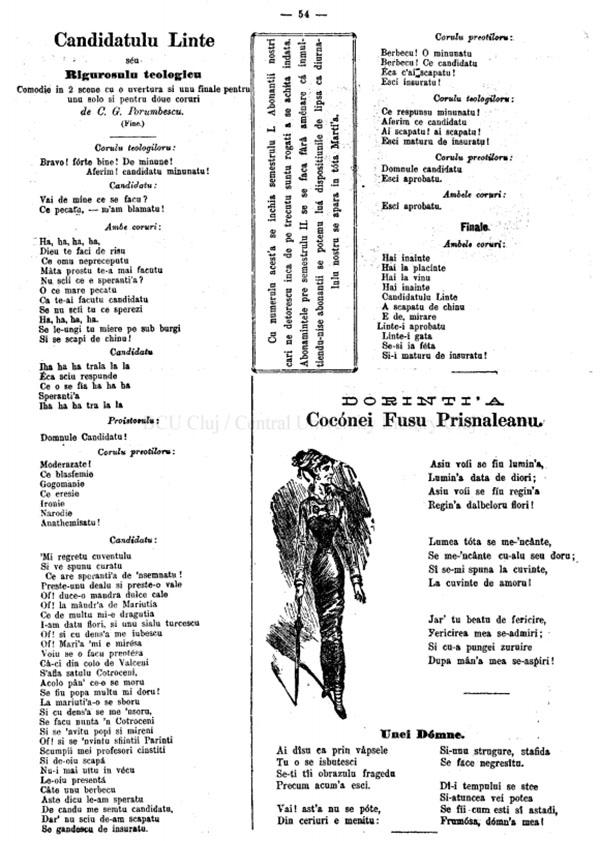 1881 Candidatul Linte GURA SATULUI