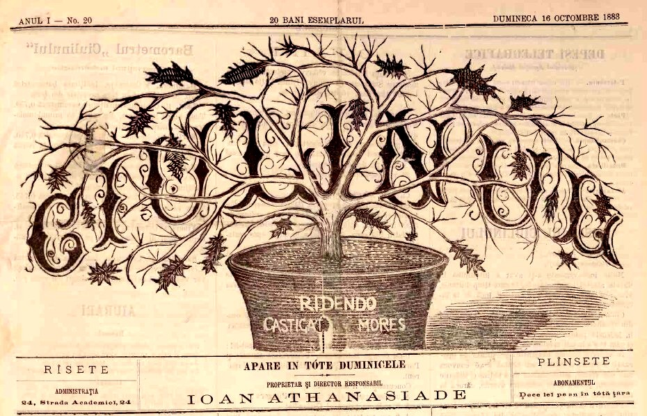 1883 Ciulinul Frontispiciu