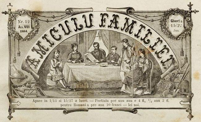 1884 Cetalnita din Toporauti AMICUL SATEANULUI