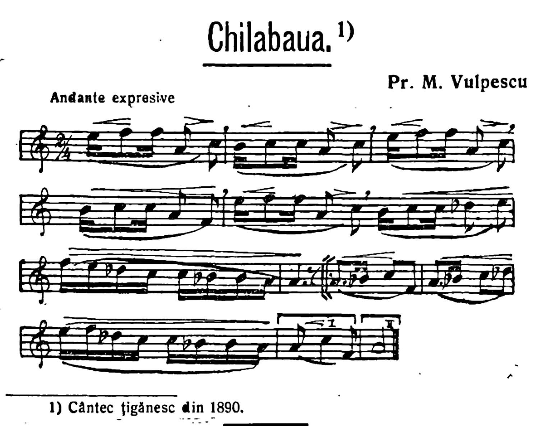 1890 Cantec tiganesc