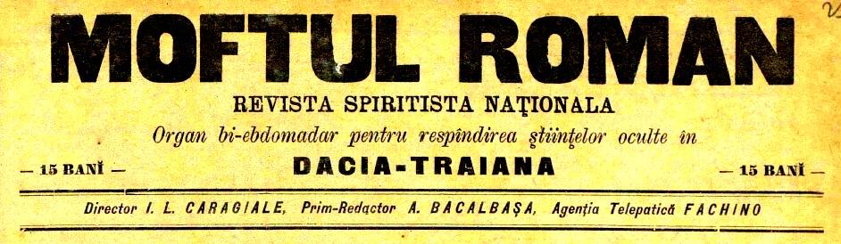 1893 Moftul Roman Frontispiciu