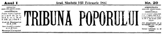 1897 Tribuna Lupta