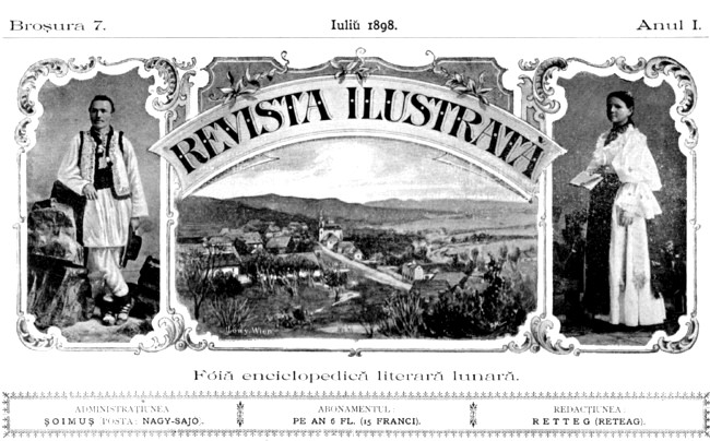 1898 Ioan Pop Revista ilustrata