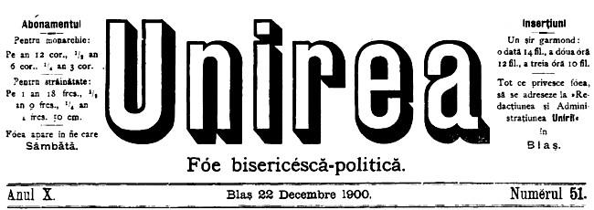 1900 Bucovinenii Unirea