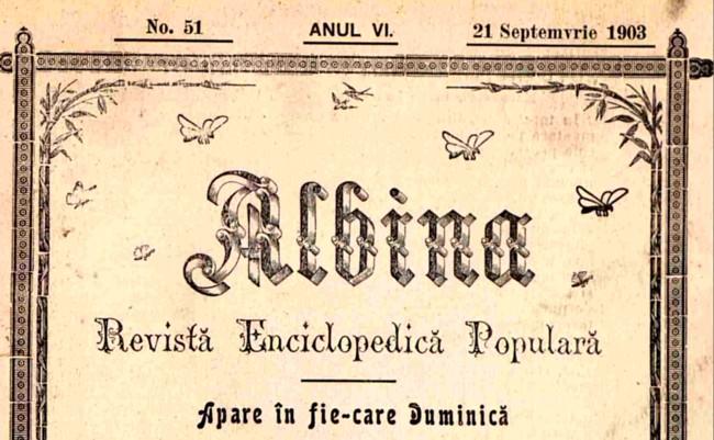 1903 ALBINA Cosbuc