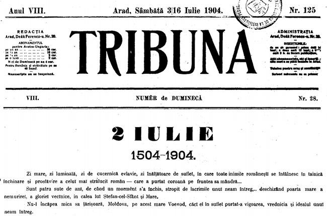 1904 2 iulie TRIBUNA