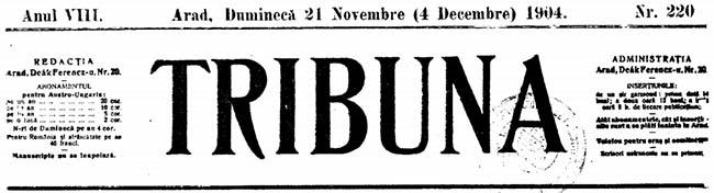 1904 Alecsandri Tribuna