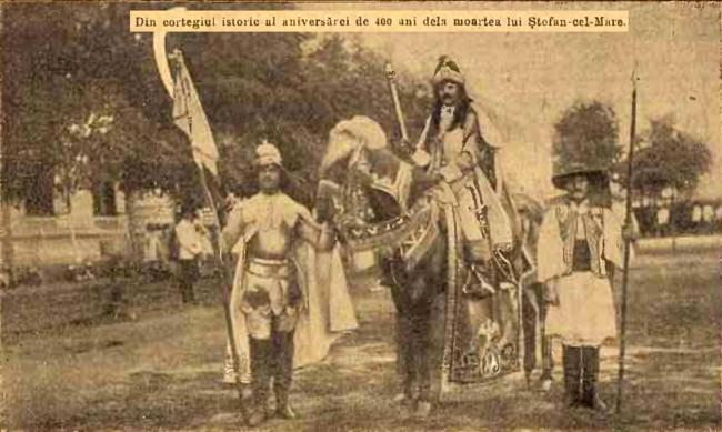 1904 Cortegiul istoric 0 CALENDARUL MINERVA 1905