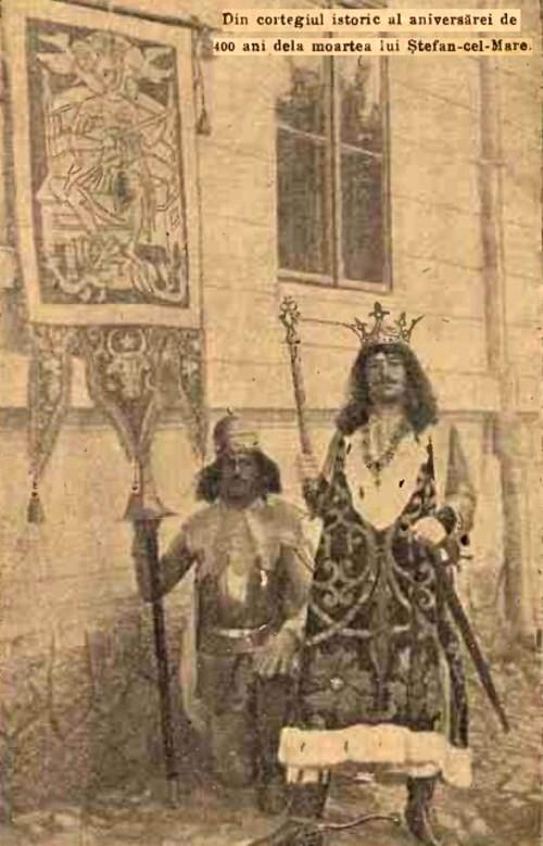 1904 Cortegiul istoric 01 CALENDARUL MINERVA 1905